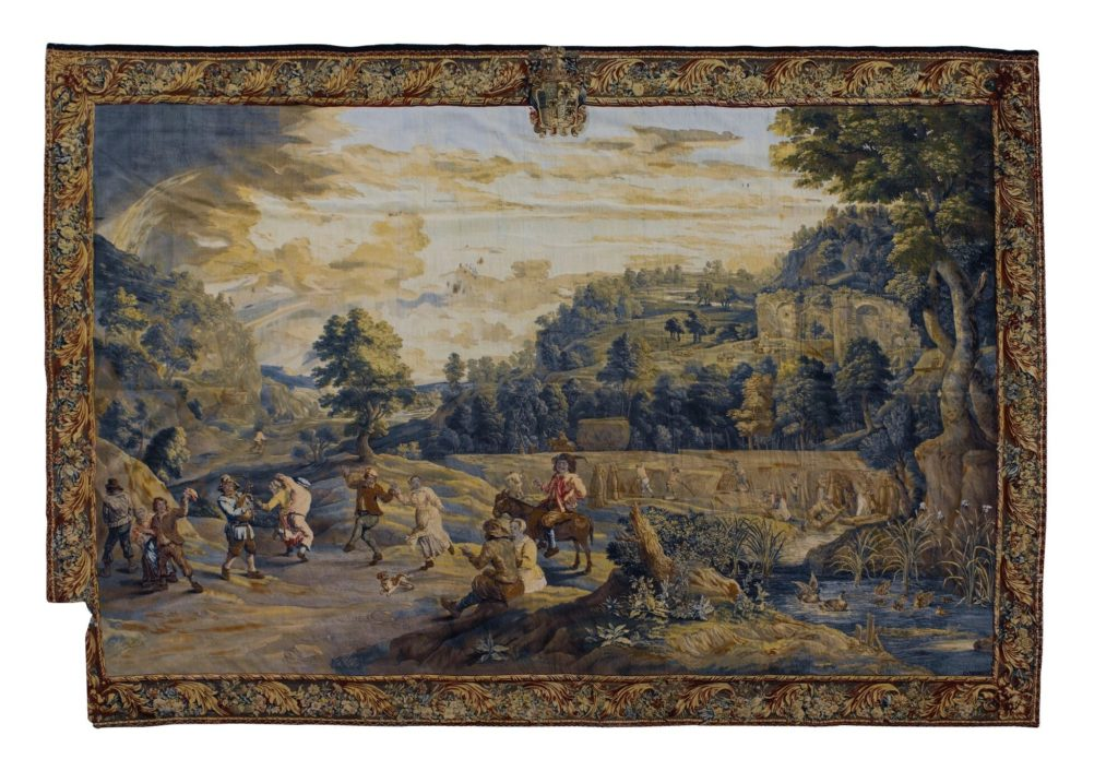 Return from the Harvest Tapestry