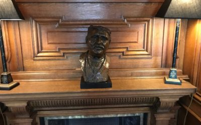 The Bust on the mantle in the Library, Tim Buckley 1863- 1945