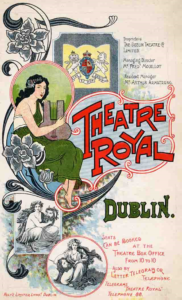 Programme for the Theatre Royal (front cover), January 1906 By kind permission of Dublin City Library and Archive